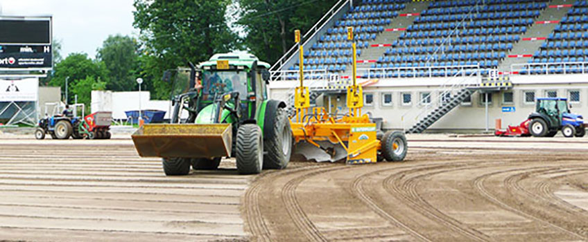 строителство и реконструкции на терени