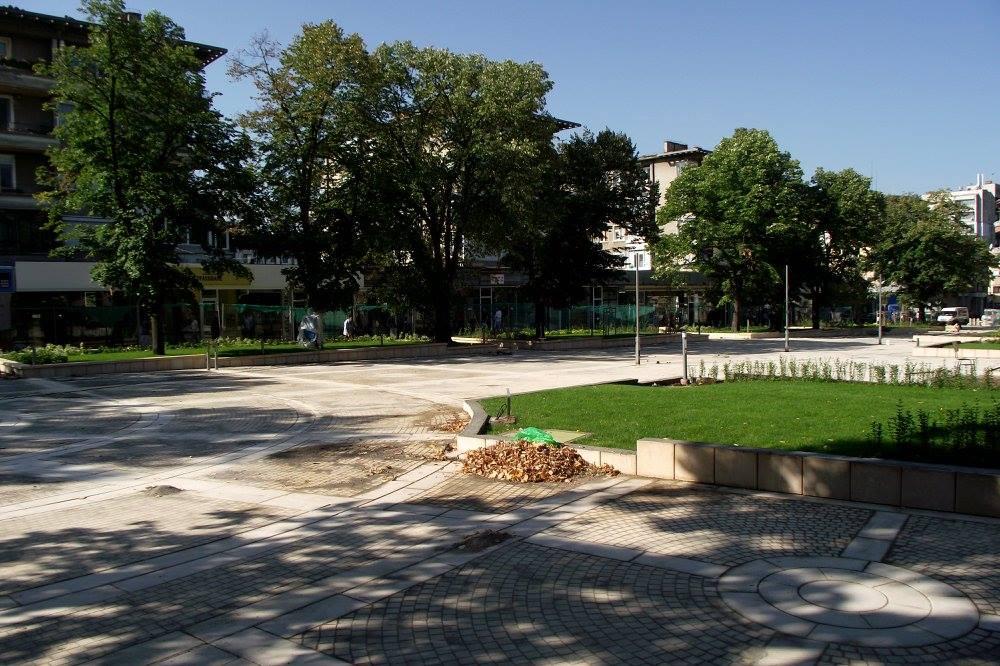 Обновеният център на гр. Ямбол
