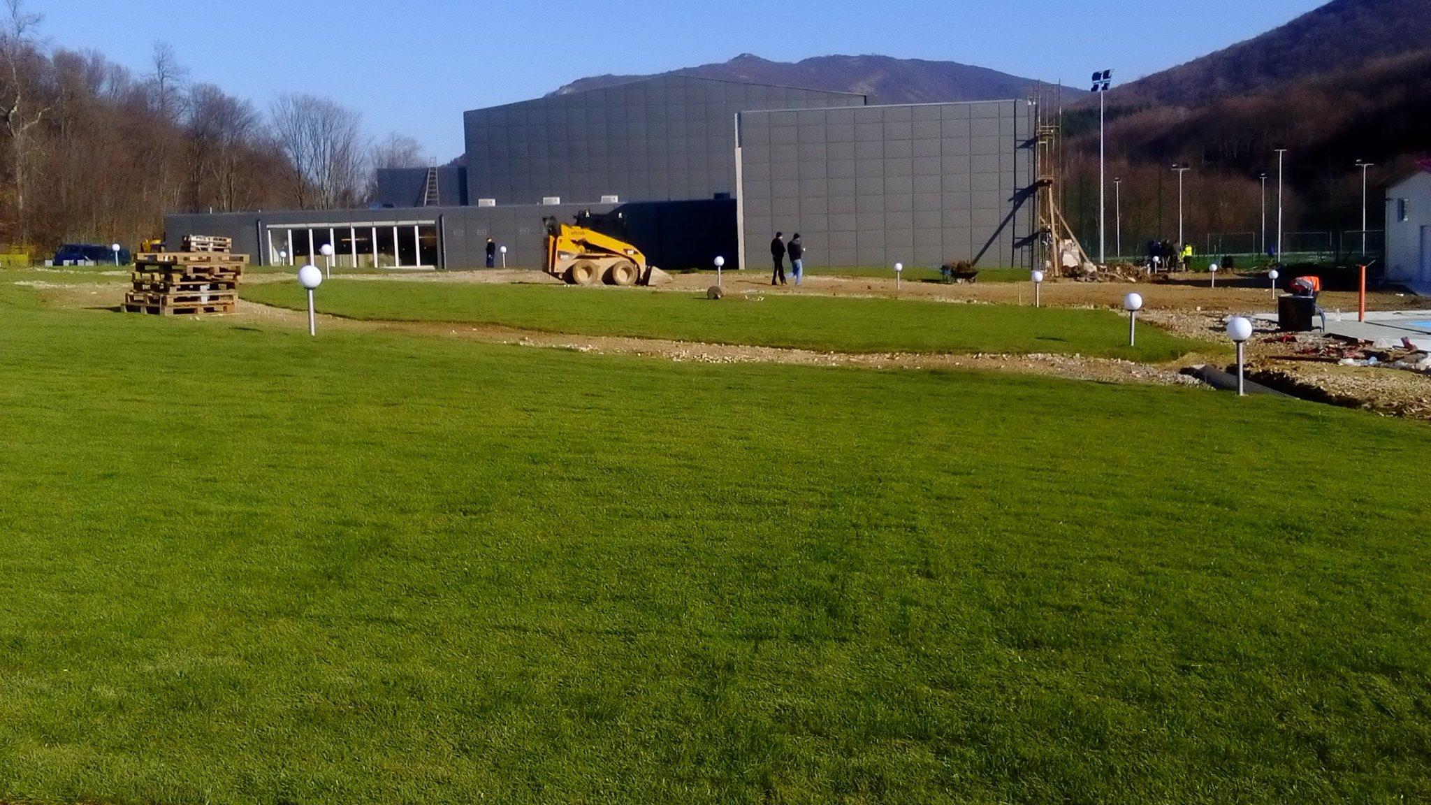 Спортен комплекс в гр. Върбица