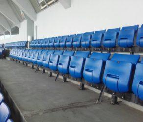 "Монтирани седалки на Национален стадион ""Васил Левски"""